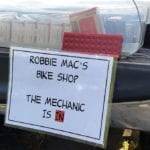 Robbie Mac's Bike Shop - The Mechanic is in