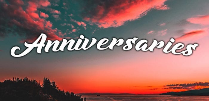 September Anniversaries